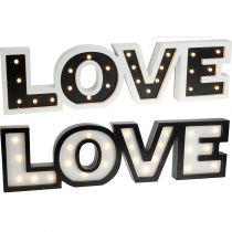 LETTRES LOVE LED 60X16CM