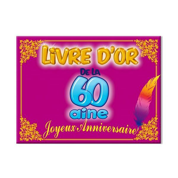 LIVRE D'OR 60AINE