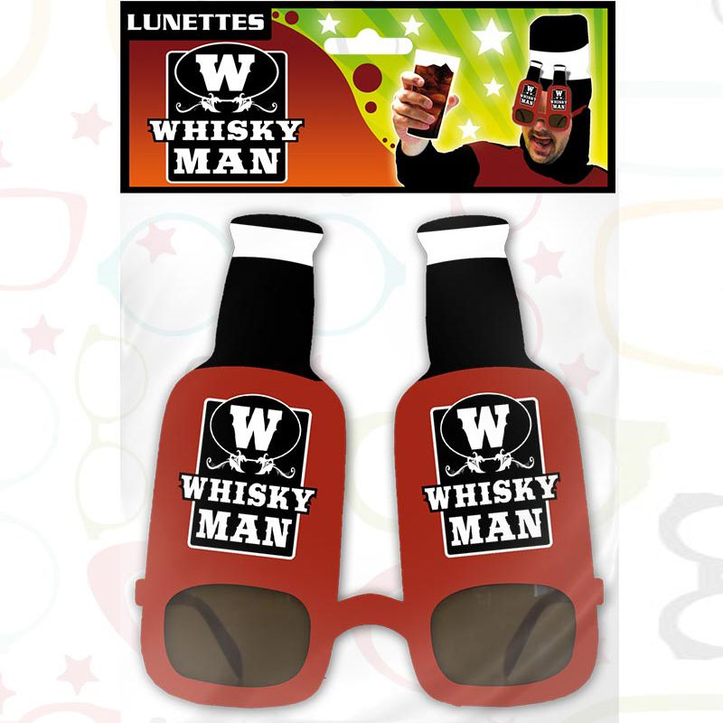 LUNETTES HUMORISTIQUES WHYSKY MAN