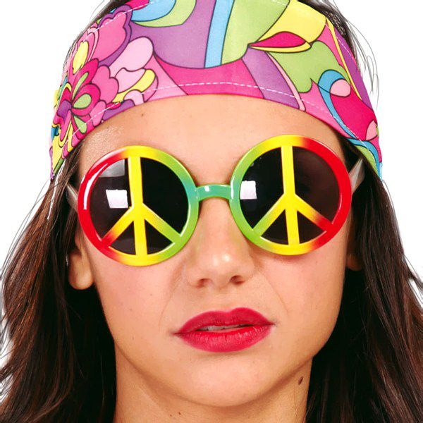 LUNETTES PEACE AND LOVE HIPPIE
