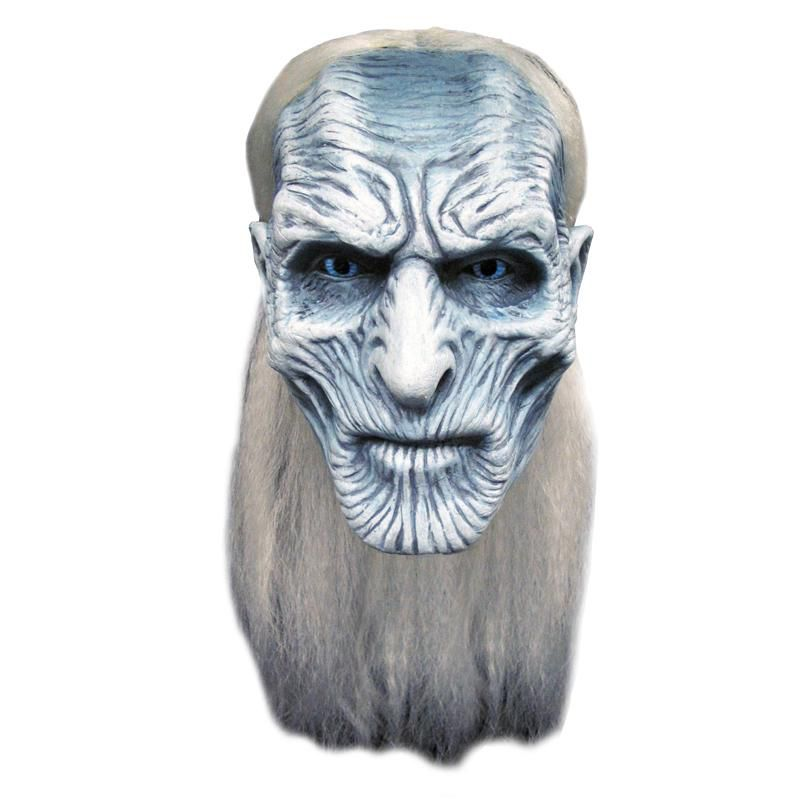 MASQUE LATEX ADULTE WHITE WALKER