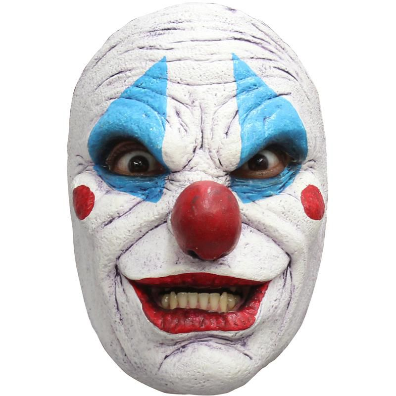 MASQUE LATEX CLOWN  ABOMINABLE ADULTE