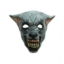 MASQUE LOUP TERRIFIANT LATEX ADULTE