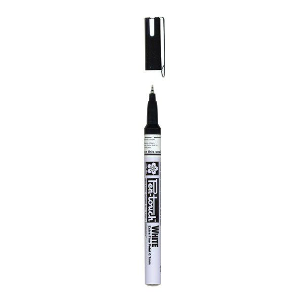 PEN TOUCH EXTRAFINE 0.7MM - BLANC