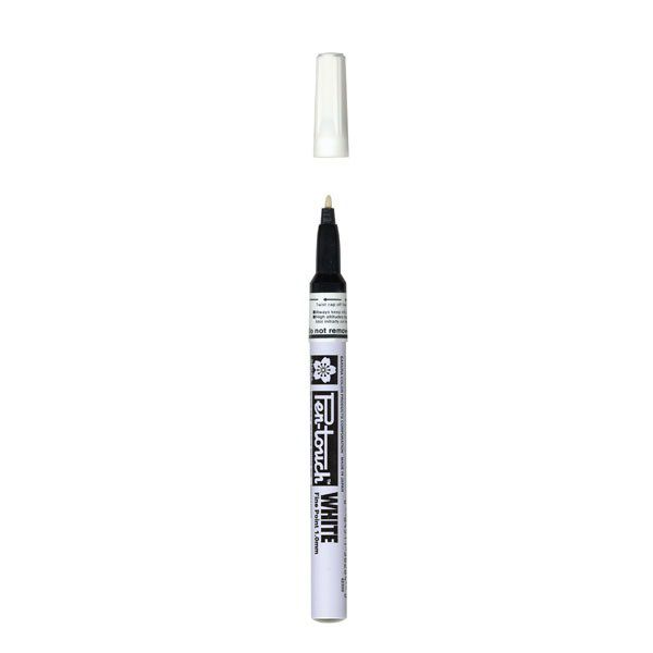PEN TOUCH POINTE FINE 1MM - BLANC