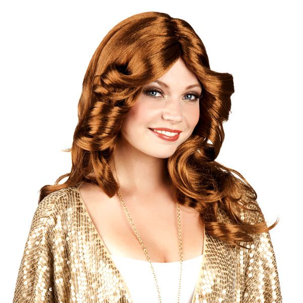PERRUQUE DISCO DOLL BRUNE