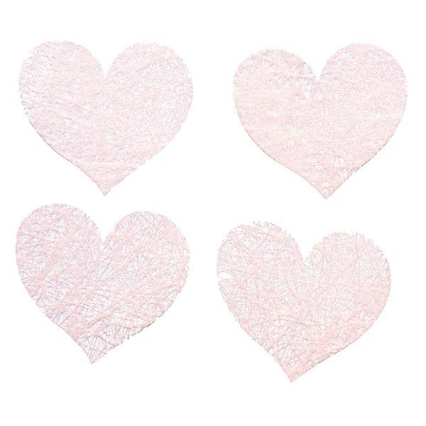 SACHET 100 COEURS ROMANCE - ROSE PASTEL