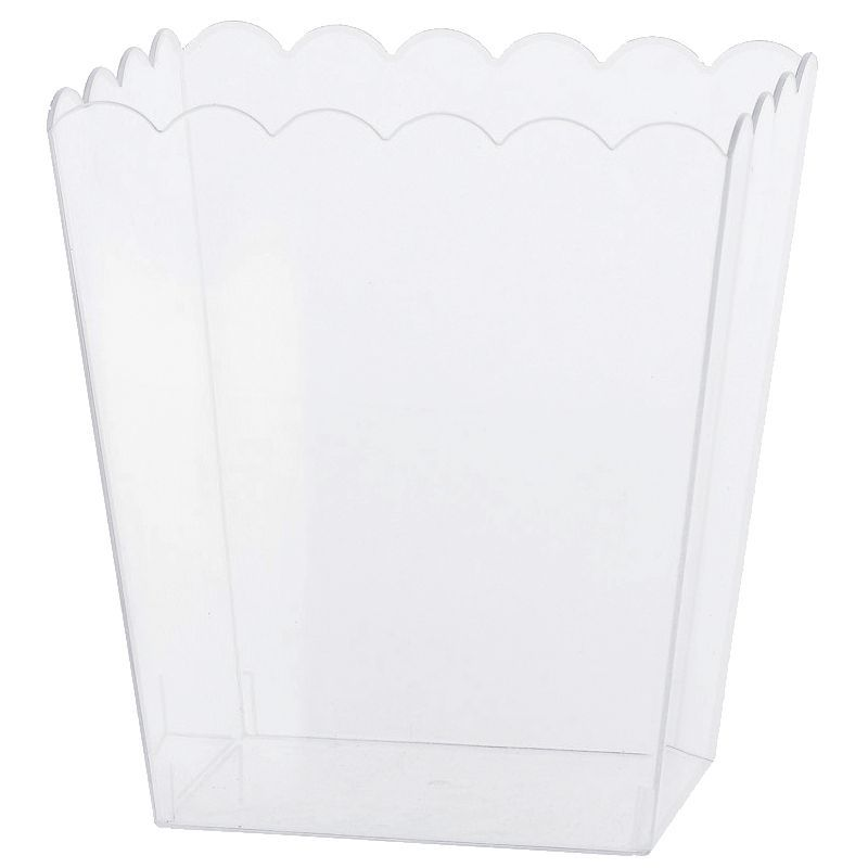 SEAU CARRÉ PVC CANDY BAR 15CM