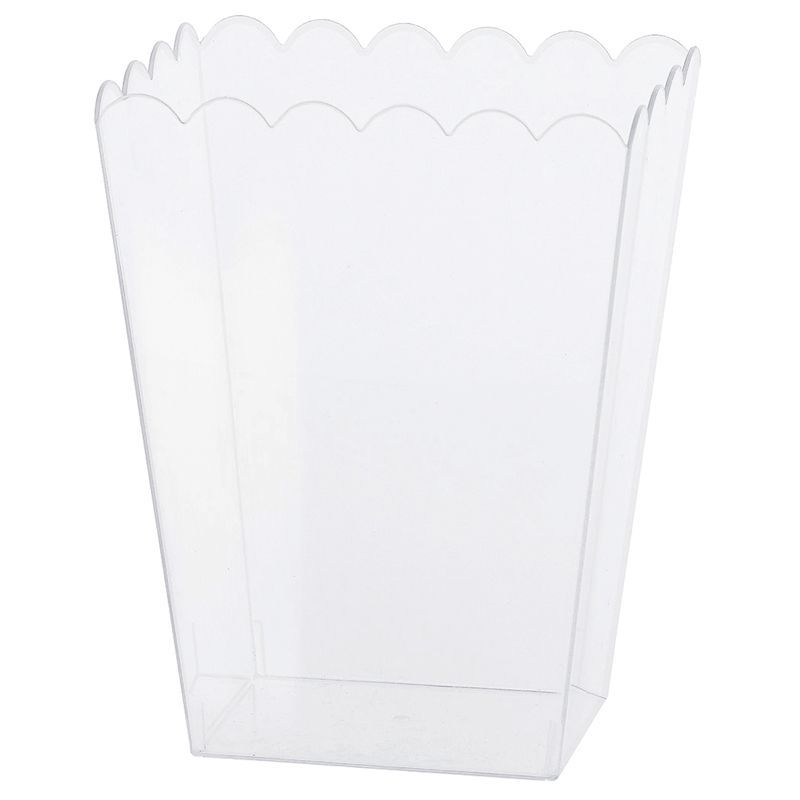 SEAU CARRÉ PVC CANDY BAR 19CM