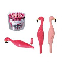 STYLO � BILLE FLAMANT ROSE