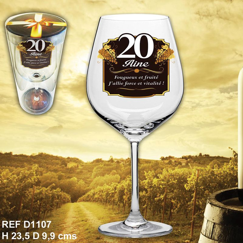 VERRE A VIN 20AINE