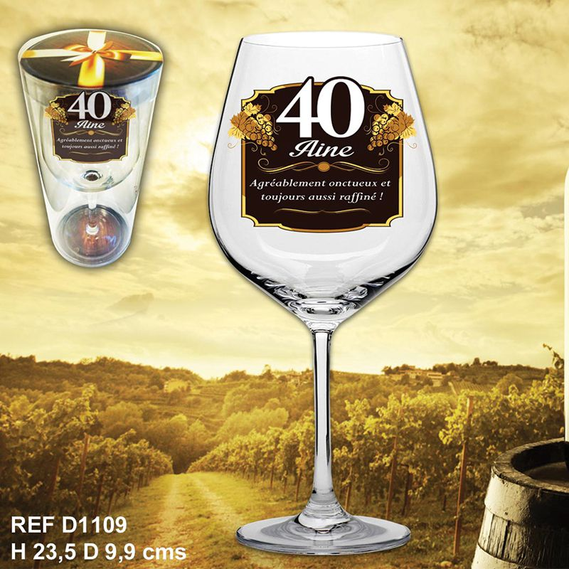 VERRE A VIN 40AINE