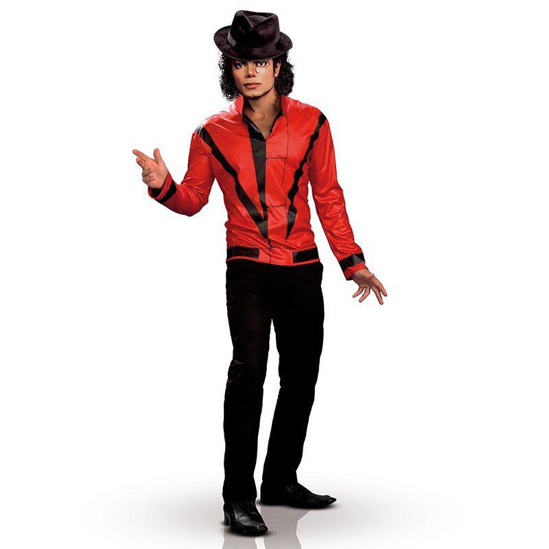 veste rouge michael jackson