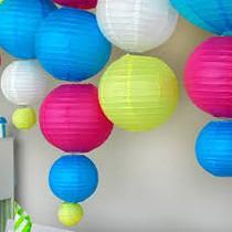 Les boules en papier