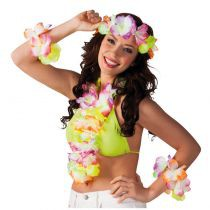 Collier - Fleur Hawaï