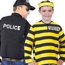 Policier et prisonnier