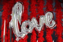 Table Saint Valentin - L'amour en rouge