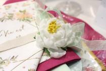 Table Aquarelle Fleurs et pastel