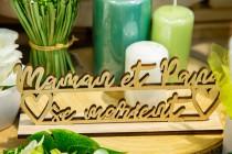 Table de réception Authentique Verdure
