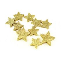 étoile pailletée or