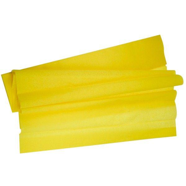 feuille crépon jaune pas cher