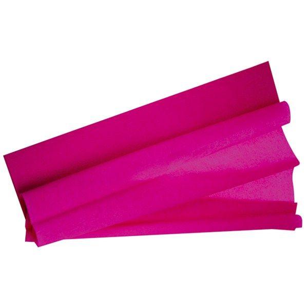 feuille papier crépon fuchsia pas cher