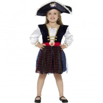 DÉGUISEMENT PIRATE PETITE FILLE LUXE