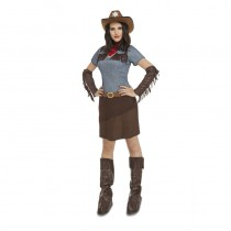 DÉGUISEMENT ROBE COWGIRL ADULTE