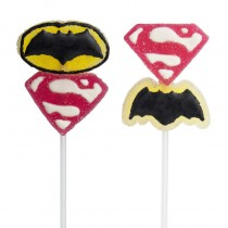 1 BROCHETTE JELLY SUPERMAN VS BATMAN ™