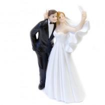 1 COUPLE MARIÉS SELFIE