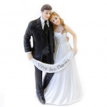 1 COUPLE MARIÉS VIVE LES MARIÉS