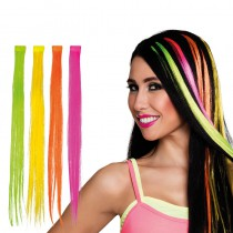 1 EXTENSION DE CHEVEUX FLUO