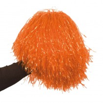 1 POM-POM RAPHIA NYLON ORANGE