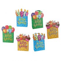 1 SAC CADEAU HAPPY BIRTHDAY 18 X 24 CM