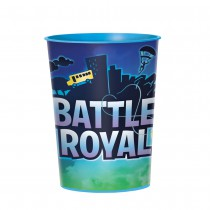 1 VERRE EN PVC RÉUTILISABLE BATTLE ROYAL