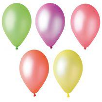 10 BALLONS FLUORECENTS BIO DIAM 30 CM