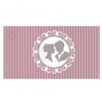 étiquette mariage couple mariés style vintage