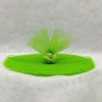 10 RONDS TULLE FILET - MENTHE