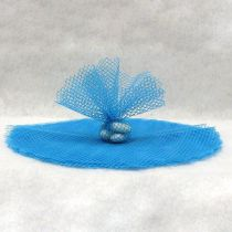 10 RONDS TULLE FILET - TURQUOISE