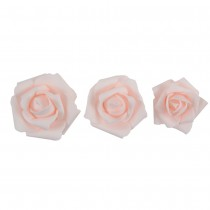 10 ROSES À DISPERSER 5/5,5/7,8CM ROSE
