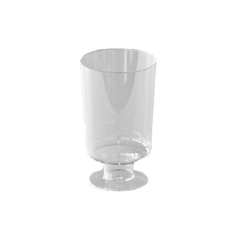 verre à vin plastique transparent 1er prix