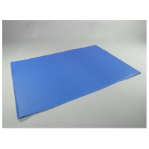 100 SET DE TABLE PAPIER 60GR-BLEU ROYAL