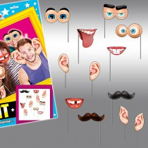 12 accessoires humoristiques photobooth corps humain