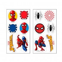 12 MINI DISQUES EN SUCRE SPIDER-MAN ™
