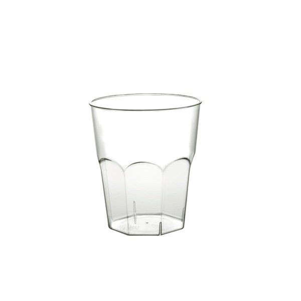 12 VERRES À COCKTAIL TRANSPARENT 220CC