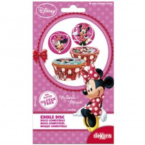 16 MINI DISQUES EN SUCRE MINNIE ™