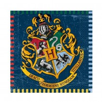 16 SERVIETTES 33X33CM HARRY POTTER