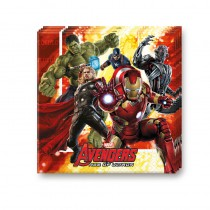 16 SERVIETTES AVENGERS AGE OF ULTRON ™ 33 CM