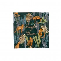 16 SERVIETTES JUNGLE FEVER 33X33CM