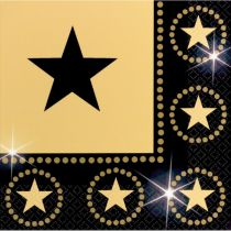 16 SERVIETTES STARS HOLLYWOOD